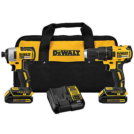 DeWALT 20V Brushless Drill/Impact Combo Kit, DCK277C2