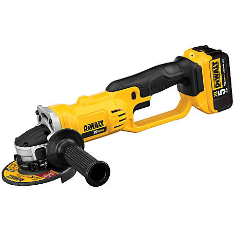 DeWALT 20V Grinder Kit, 1 Battery, DCG412P1