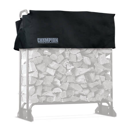 Champion Power Equipment 48 in. Firewood Storage Rack Cover, 100551