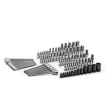 GearWrench Torx/Hex Bit Socket Set, 84 Piece, 80742