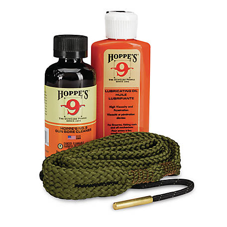 Hoppe's 123 Done Kit 22 LR/223/5.56 Rifle Lube Solvent, 110556