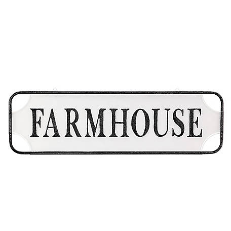 Red Shed Large Metal Farmhouse Sign