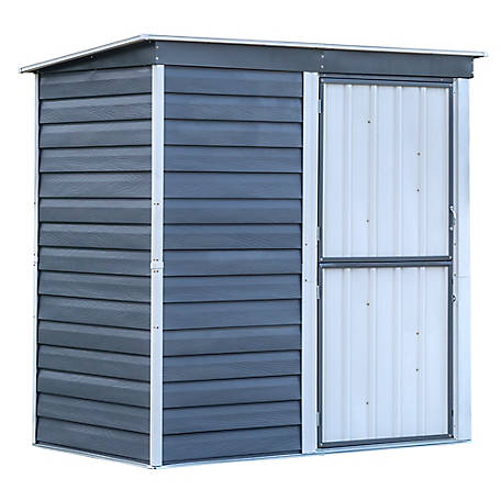 Arrow Shedinabox Steel Ste Sd 6 X 4 Ft Glzd, SBS64
