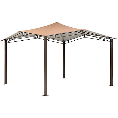 ShelterLogic Redwood Gazebo 11 x 11 ft., 24010