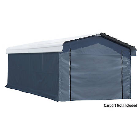 Arrow Enclosure Kit 12 x 20 ft. Carport, 10181