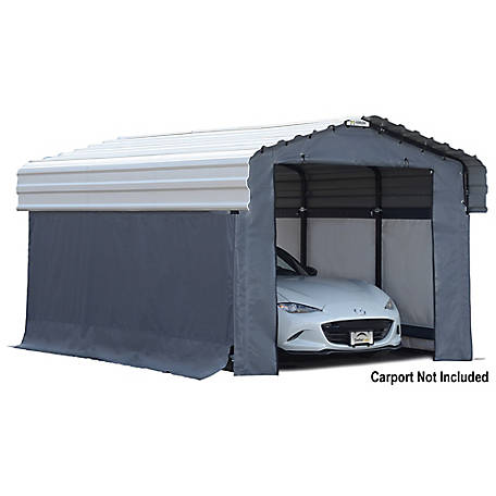 Arrow Enclosure Kit 10 x 15 ft. Carport, 10182