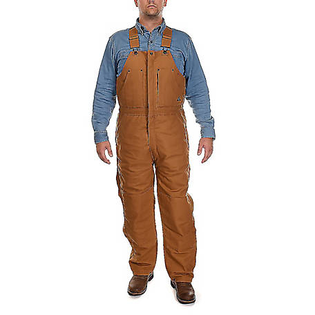 Ridgecut Men's Insulated Heavy-Duty Rigid Duck Bib Overall