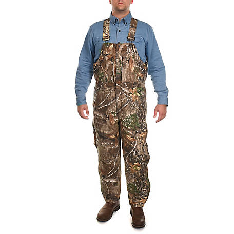 Ridgecut Men's Insulated Camouflage Bib Overall