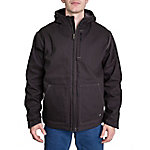 Ridgecut Men's Max-Range Sherpa-Lined Flex Sanded Duck Hooded Jacket