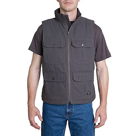 Ridgecut Men's Fleece Duck Vest, TRV77