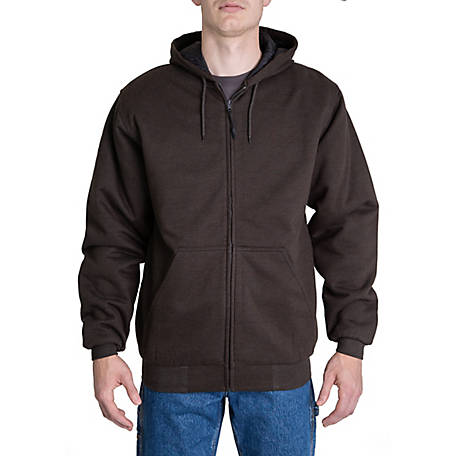 Ridgecut Men's Quilt-Lined Zip Front Hooded Sweatshirt