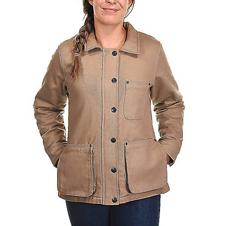 Ridgecut Women's Blanket-Lined Twill Field Coat