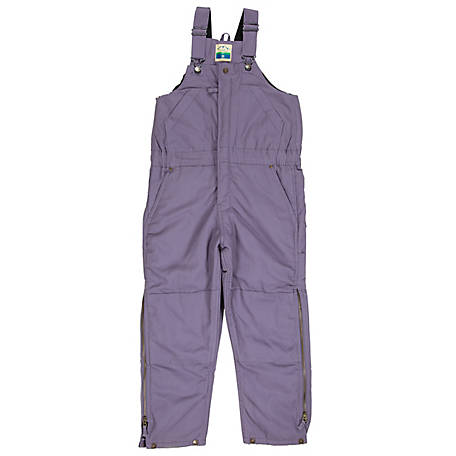 Blue Mountain Girls' Insulated Bib Overalls