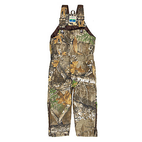Blue Mountain Toddler Boy's Insulated Camouflage Bib