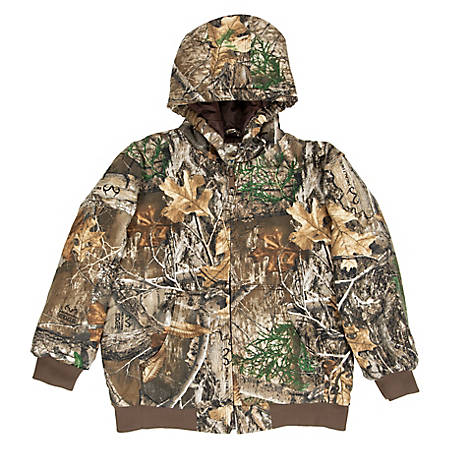 Blue Mountain Boy's Insulated Camouflage Jacket
