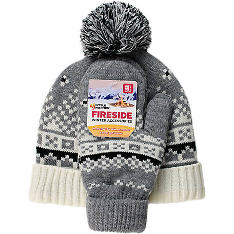 Little Hotties Women's Hat/Glove Nordic Set