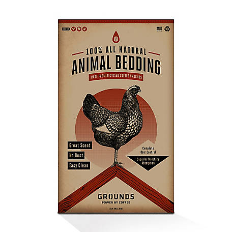 Grounds All Natural Animal Bedding, F3500001