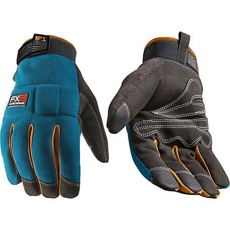 Wells Lamont Men's Insulated High Dexterity Adjustable Wrist Gloves