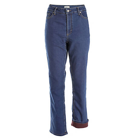 Blue Mountain Women's Fleece Lined Jeans