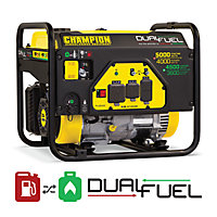 Deals on Champion Power Equipment 5000W Dual Fuel Generator Carb 100629