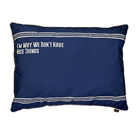 MuttNation Fueled by Miranda Lambert Printed Verbiage Bed