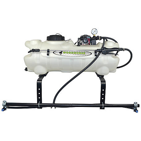 workhorse sprayers 15 gal atv sprayer 2 nozzle boom, atv1502 at