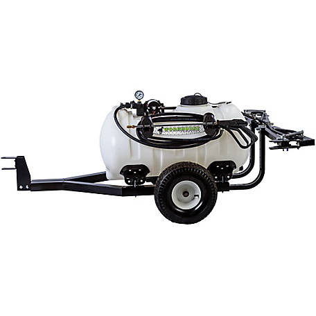 WorkHorse Sprayers 40 gal. Trailer Sprayer 5-Nozzle Boom, LG425DTS