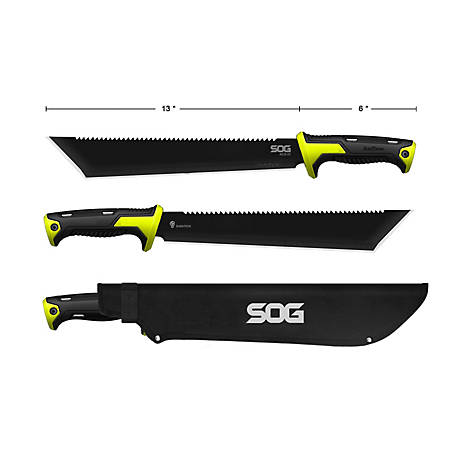SOG 13in. Tanto Super Macheter with Sheathbi, DTS65791