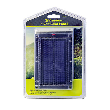 Universal Power Group Tl6V Solar Panel With Bracket, 87540