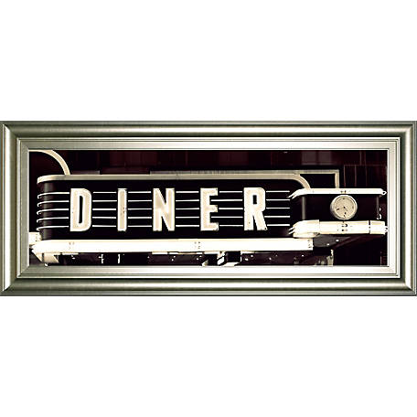 Classy Art 18 in  x 42 in  Diner Framed Print, 1883 at Tractor Supply Co