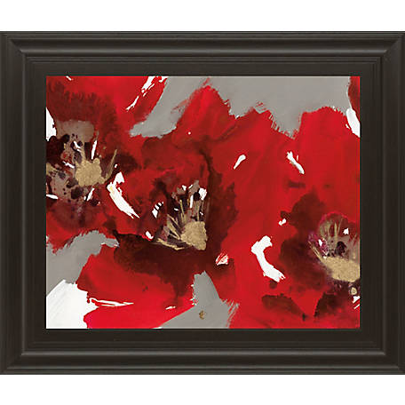 Classy Art 22 in. X 26 in. Red Poppy Forest I, 8128