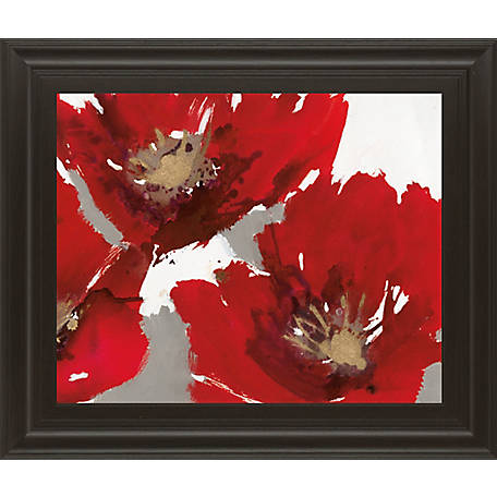 Classy Art 22 in. X 26 in. Red Poppy Forest II, 8129