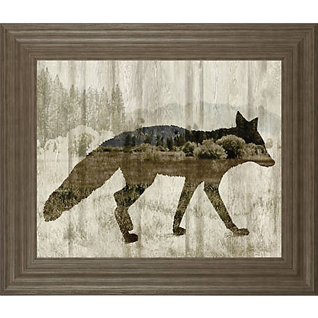 Classy Art 22 in. X 26 in. Camouflage Animals-Fox, 8306