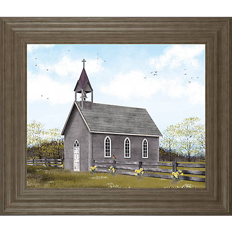 Classy Art 22 in  X 26 in  He Is Risen Framed Print, 8458 at Tractor
