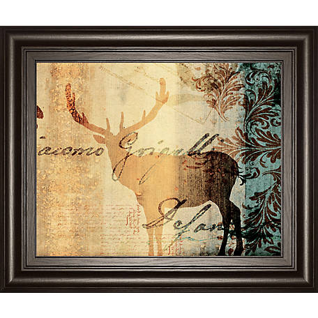 Classy Art 22 in  X 26 in  Letter II Framed Print, 8507 at Tractor
