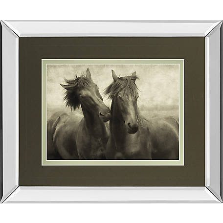 Classy Art 34 in. x 40 in. Horses Dont Whisper Art, DM5516MF