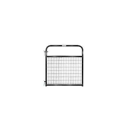 Tarter Wirefilled Gate, Black, 4 ft., 2 in. x 4 in. Mesh, WFGBL4