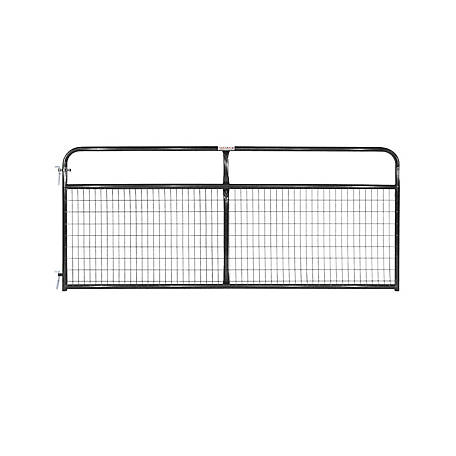 Tarter 2 X 4 Wirefilled Gate Black 10, WFGBL10
