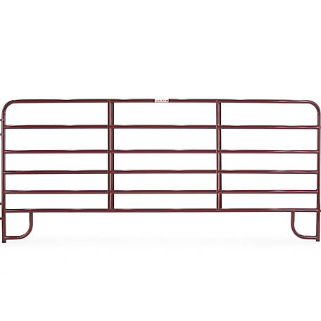 Tarter 6-Bar Economy Corral Panel Red 12 ft., ECR12