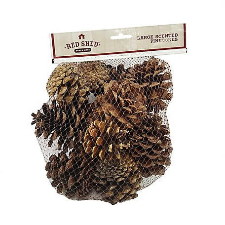 Red Shed Large Scented Pinecones
