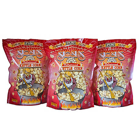Stosh's 3 Bags of 14 oz. Family Size Kettle Corn, 3-14OZKSKC
