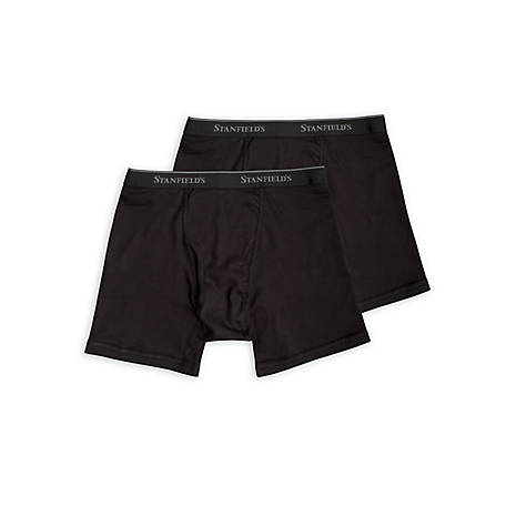 Stanfield's Men's 2 Pack Cotton Boxer Brief 2516