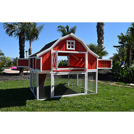 Rugged Ranch Omaha Chicken Coop, OMHACOOP
