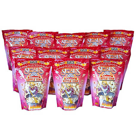 Stosh's 12 Bags of 2 oz. Single Size Kettle Corn, 12-2OZSSKC