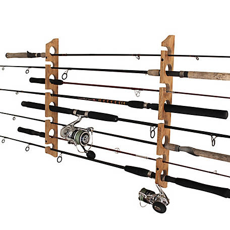 Rush Creek Creations 2-in-1 8-Rod Wall/Ceiling Storage Rack, 38-3020
