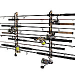 Rush Creek Creations 2-in-1 Camo 11-Rod Wall Ceiling Rack, 38-3024