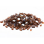 Margo Garden Products 1/2 in. Copper Reflective Fire Glass 10 lb., DFG10-R01M