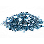 Margo Garden Products 1/4 in. Sky Blue Reflective Fire Glass 10 lb., DFG10-R04