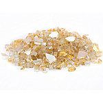 Margo Garden Products 1/4 in. Gold Reflective Fire Glass 10 lb., DFG10-R06