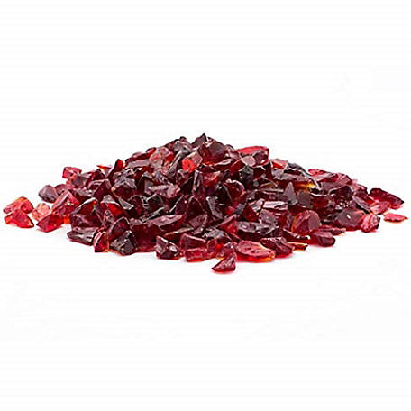 Margo Garden Products 1/4 in. 20 lb. Red Landscape Glass, DFG20-L010S
